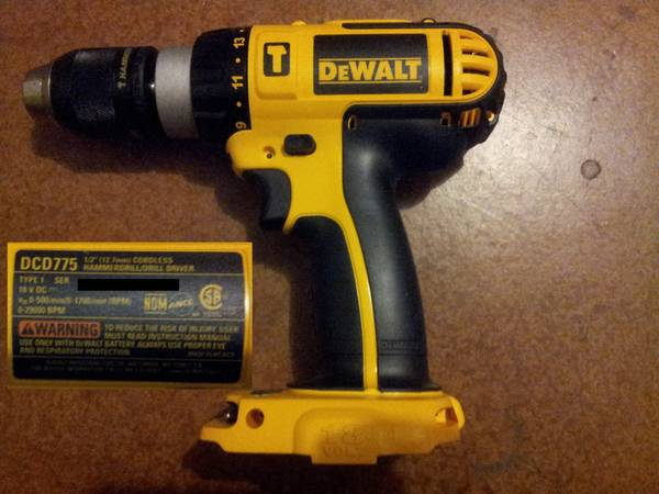 Brand New DeWALT 18V Hammer Drill DCD775 and other DeWALT - $100 (Summerlin)