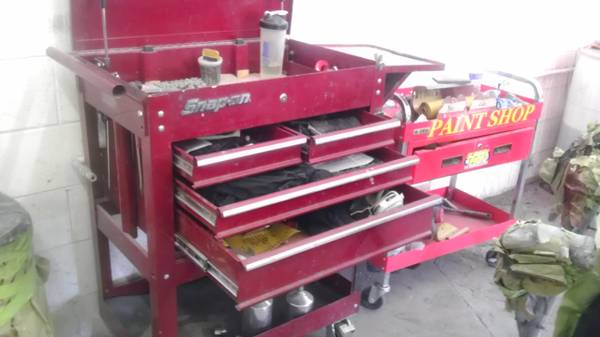 Snap on tool cart tool box - $350