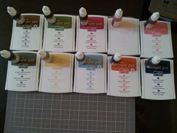 Stin Up Ink pads and refill - $30 ((NW) 95 and Durango)