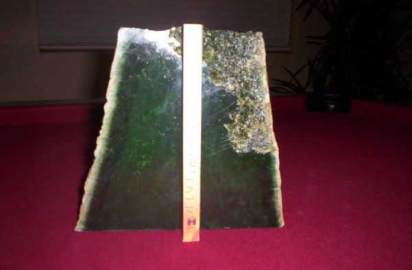 Solid Jade Bookends (Green Nephrite, 11pounds) - $195 (Northwest)