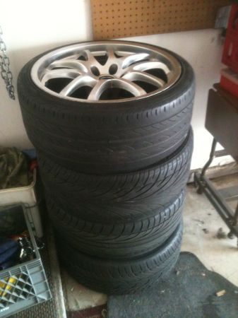 Rays G35 forged rims - $420 (Las vegas)