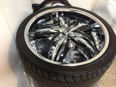Diablo Rims 20 inches Chrome with Tires Like new Super Clean - $1190 (Summerlin)