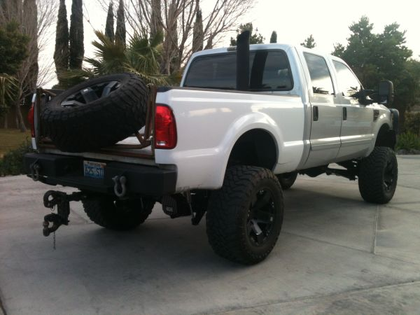 F350F250 short bed WHITE 1999- 2008 - $1500 (Las Vegas (northwest corner))