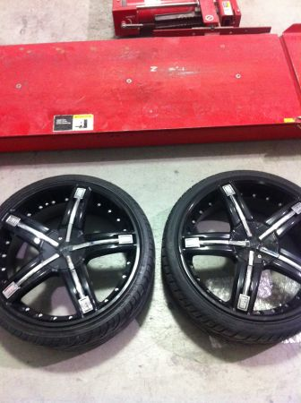 20 dolce Rims and Tires Universal LIKE NEW - $1000 (las vegas)