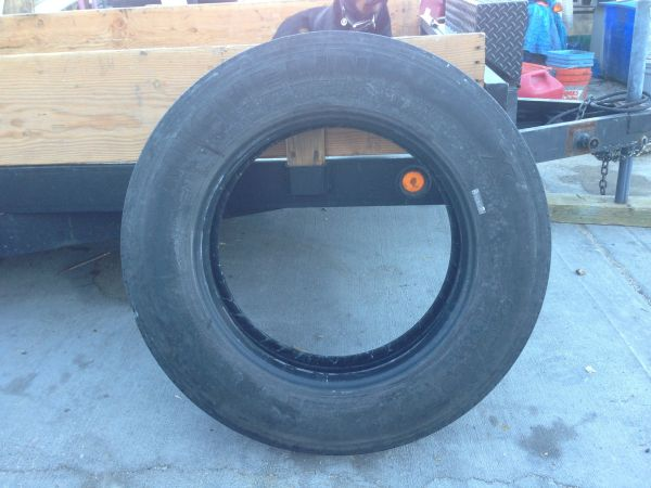 Semi truck or RV tire ( s) 8 Michelin 225 x 75 R 22.5 G rated - $500 (Central Las Vegas)