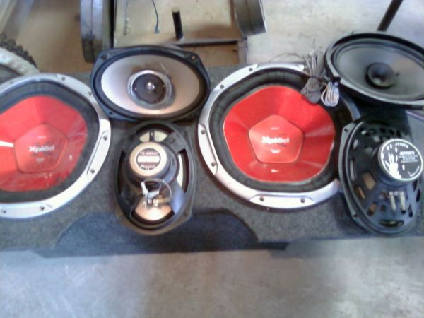 Car Stereos and speakers - $30 (OwensNellis)