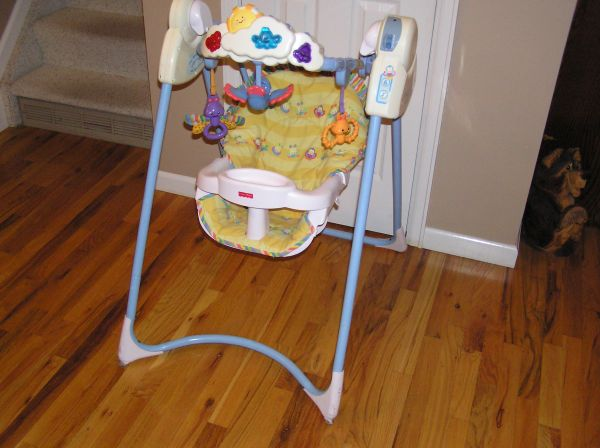 Fisher Price-Swing Flutterbye Dreams - $30 (Mountains Edge)