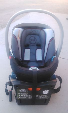 Cybex aton infant carseat - $95 (Boulder and Sahara)