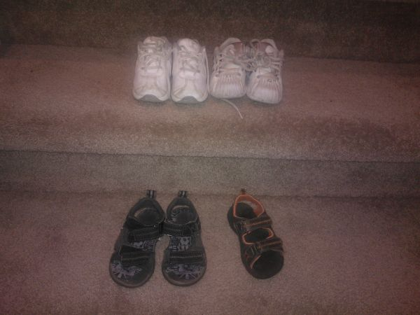 Boys Toddler Shoes Size 6 Nike, Adidas, Osh Kosh - $10 (Southwest)