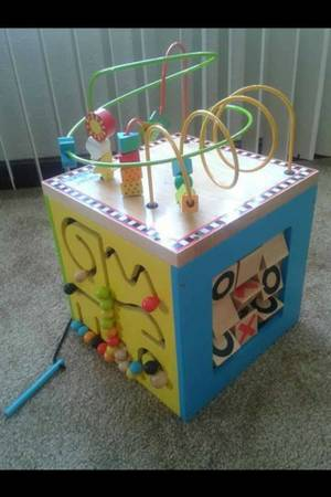 Parents Battat Activity Cube - $30 (215Cheyenne )