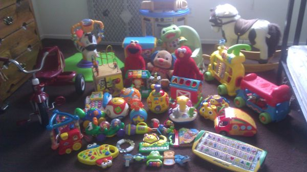 Lot of Baby Toddler Toys Separate Prices Listed in Ad - $180 (Jones lake mead)