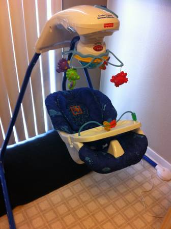 Fisher Price Ocean Baby Swing - $75 (Boulder hwy and Horizon)