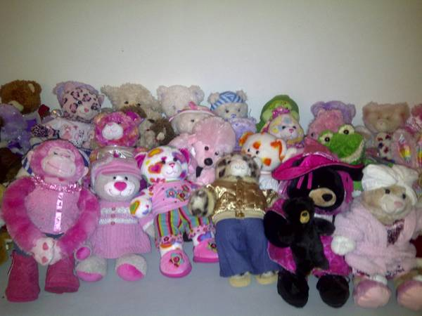 more than 100 BUILD A BEARS BABW Clothes Shoes - $5 (Southwest - Rhodes Ranch)