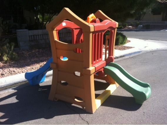 Step 2 Play Up Double Slide Climber - $160 (Silverado Ranch)