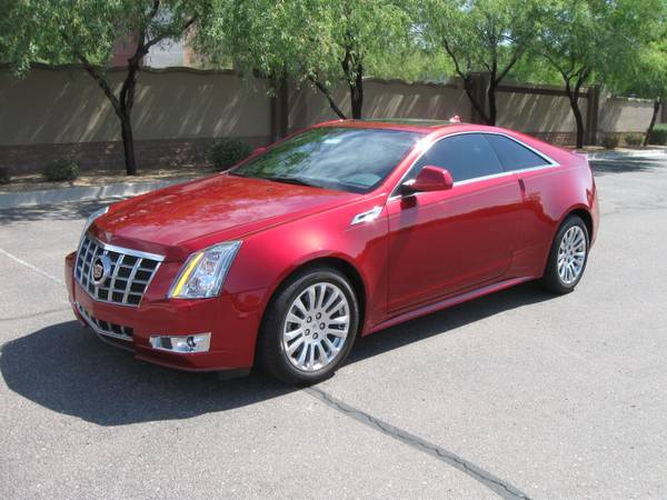 2012 Cadillac CTS Coupe AWD Brand New $11,500 Off MSRP - $39615 (Scottsdale Arizona)
