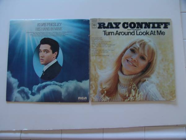 5 RECORDS, ELVIS, RAY CONNIFF, OSMOND AND XMAS - $15 (Seven Hills-Henderson)