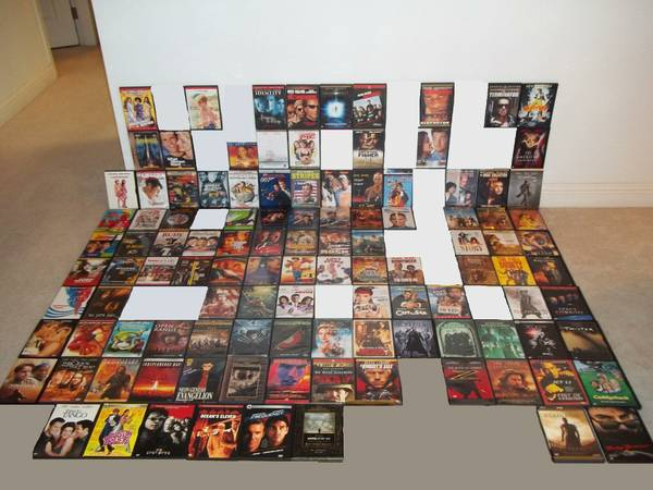 127 DVD 2 VHS Collection - Top Titles, Orig. Owner, Like New - $3 (SW Las Vegas Hacienda Decatur)