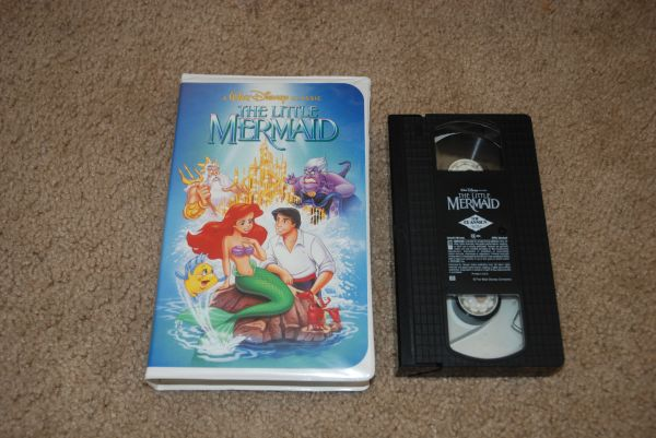 THE LITTLE MERMAID CLASSIC Banned Cover (VHS, 1990) - $15 (215 and Flamingo)