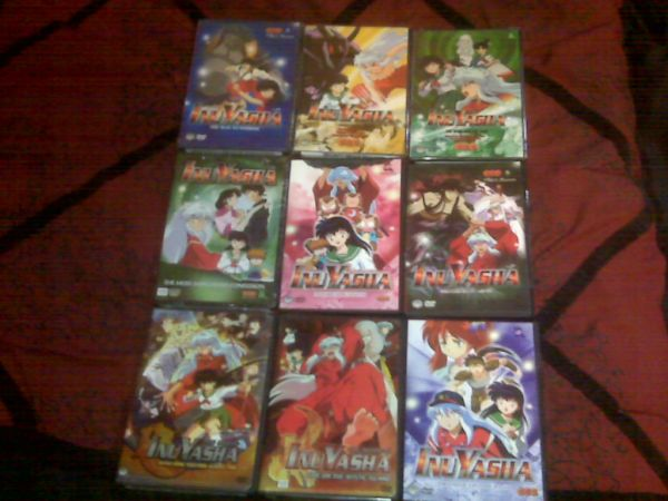 ANIME DVDSSEASONSNEW - $1 (ELV)