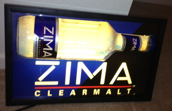 Zima Light Up Bar Sign Collectible ($50 obo)