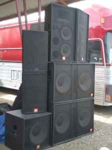 PA - SOUND systems, Lighting, stages for your event - $1 (LAS VEGAS)