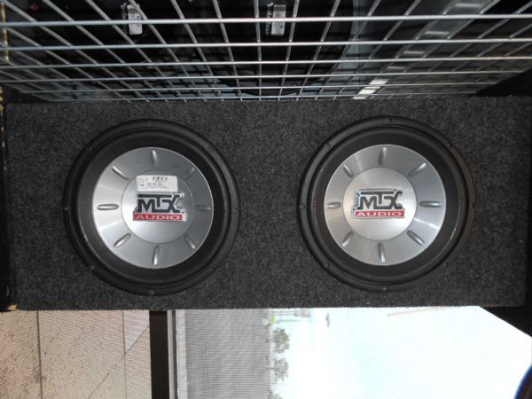 MTX AUDIO THUNDER 6000 10inch SUBWOOFERS - $70 (CHEYENNE AND RANCHO)