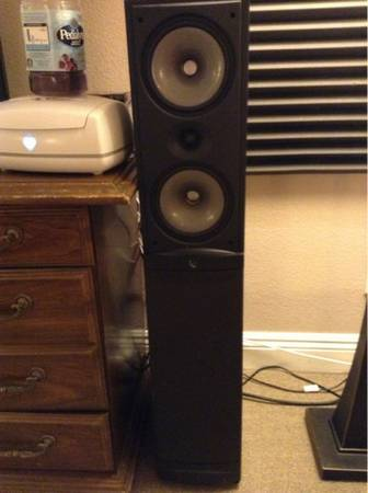 Infinity Reference RS5 (Standing Surround Sound Speakers) - $80 (Las Vegas)