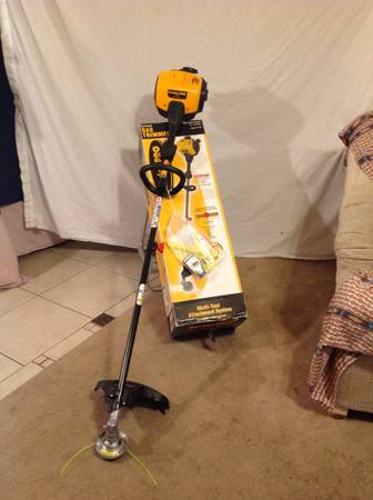 LOOK LOOK POULANPRO 33cc gas trimmer, BRAND NEW IN BOX - $100 (Pecos-Washington )