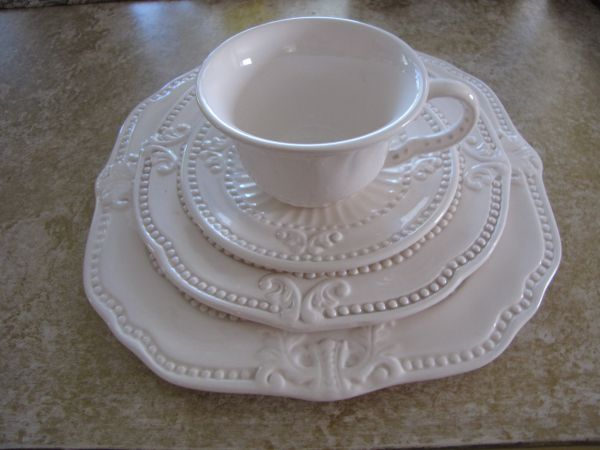 DISHES Baroque, Very Tuscan, So shabby, beach cottage - $175 (Henderson, NV)