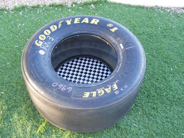 Nascar Goodyear 1 Racing Tire Table (89118)
