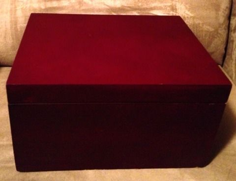 INCREDIBLE 15 pc. Wine Accessory SET in cherry wood Box w Drawer - $30 (Silverado Ranch 89123)