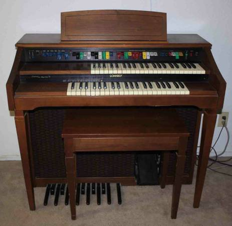 Lowrey Festival Magic Genie Organ - $75 (Summerlin)