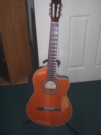 Carlo Robelli Acoustic Electric Guitar - $140 (Maryland Sahara)