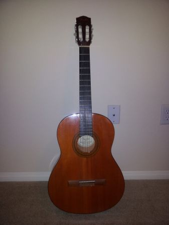 Fender Classical Acoustic Guitar - $80 (Las Vegas)