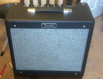 Fender Blues Jr. 60th Anniversary Guitar Amp15-watt all-tube 1x12 - $380 (OBO) North Decatur)