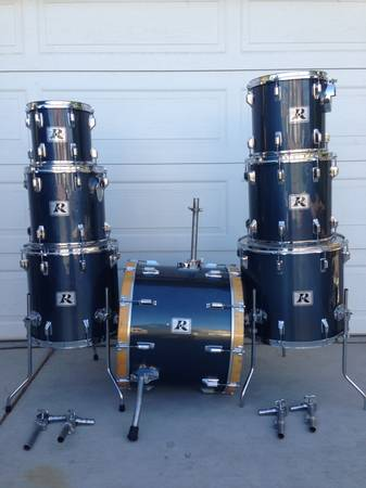 Drums. Rogers 1983 XP8 Maple drums - $525 (Las Vegas Summerlin)