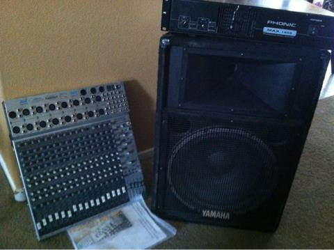 PA system and more... - $1 (Sw Las Vegas)