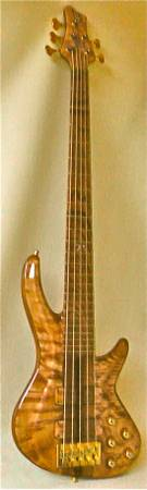 VADIM 5-STRING BASS GUITAR-EXQUISITE NEW - $4000 (obo- part trade) East LV)