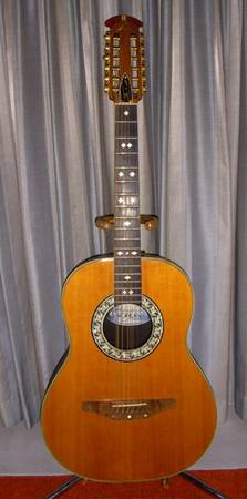 OVATION 1118-4 GLEN CAMPBELL 12 STRING ACOUSTIC GUITAR - $799 (LAS VEGAS)