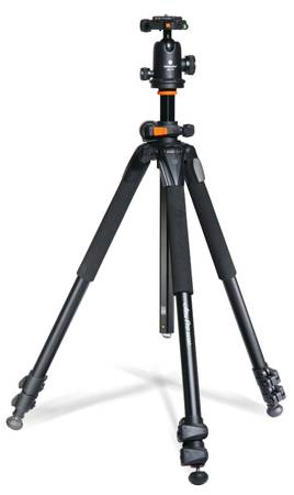 VANGUARD ALTA PRO 263AT ALUMINUM TRIPOD SBH-100 BALL HEAD - $100 (NW-Lake MeadRainbow)