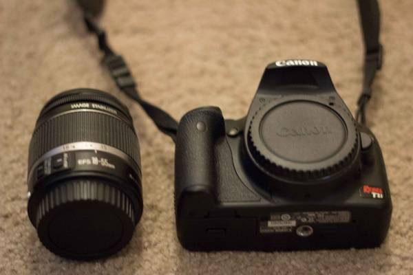 Canon t1i w 18-55 kit lens Great for beginners - $400 - $400 (95 Durango)