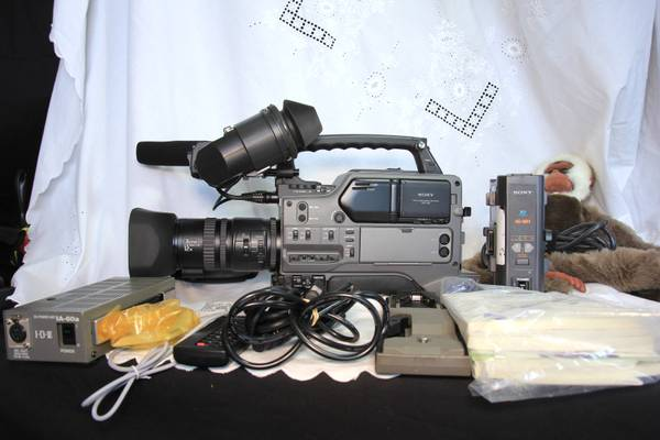 Sony DSR 250 Camcorder with bag, tripod mount, and more - $1100 (North Las Vegas)