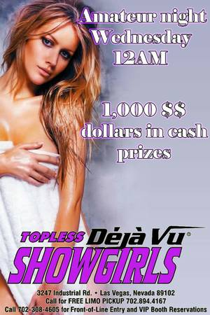 Deja Vu Showgirls Las Vegas Hiring Professional Entertainers. (Las Vegas Nevada 89109)