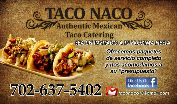 Taco party for the superbowl Special We Cater Any Event (Las Vegas)