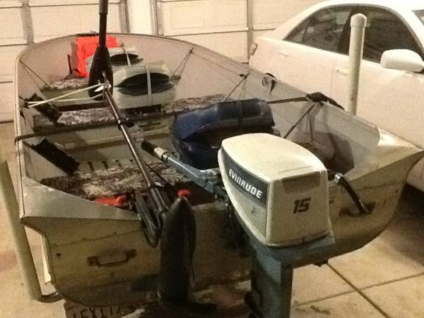 1981 14ft valco aluminum boat - $1500 (Atwater)