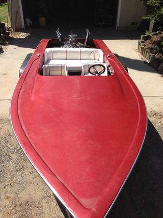 1978 CHALLENGER JET DRIVE BOAT - $4900 (merced,ca)