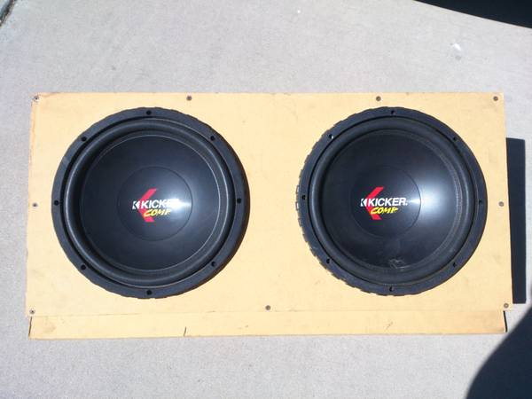 12 inch Kicker Comp Subwoofers - $160 (merced-atwater)