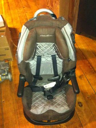 Eddie Bauer Deluxe High Back Booster Car Seat (mariposa)