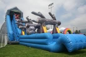 Giant Slides Bounce Houses - $275 (Los Banos,Merced,Dos Palos)