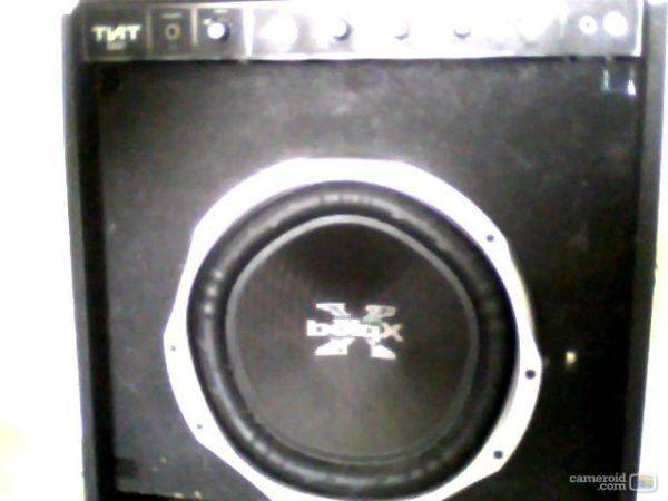 15 Sony XPlod Subwoofer NO BOX - $50 (Merced)